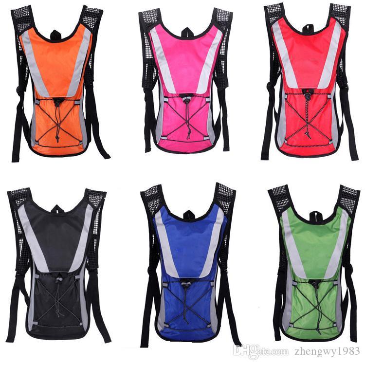 Escursioni Zaino Ziking ZJY755 Portatile all'aperto Sport Idratazione Guida Bicycle Packs Borsa Impermeabile 6 Nylon Entrambe le spalle Colors Colors Qpegs