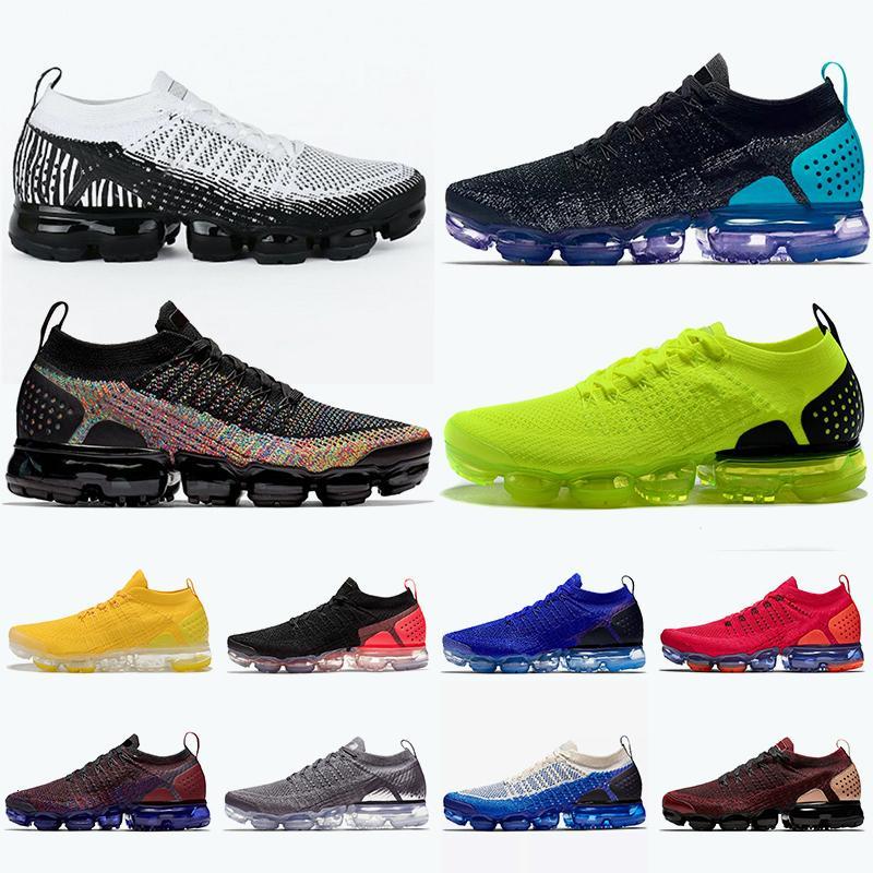 2019 nuovi pattini Cuscini Vomaxpor Tn Inoltre Tn scarpe da corsa per donne degli uomini della zebra Volt Nero Hot Punch Multicolor Nrg Red formatori Sneakers