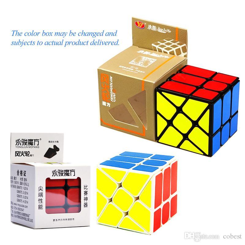 Magic Unlimited Magic Cube Decompression Folding Fingertip Decompression Cube Puzzle Creative Toy