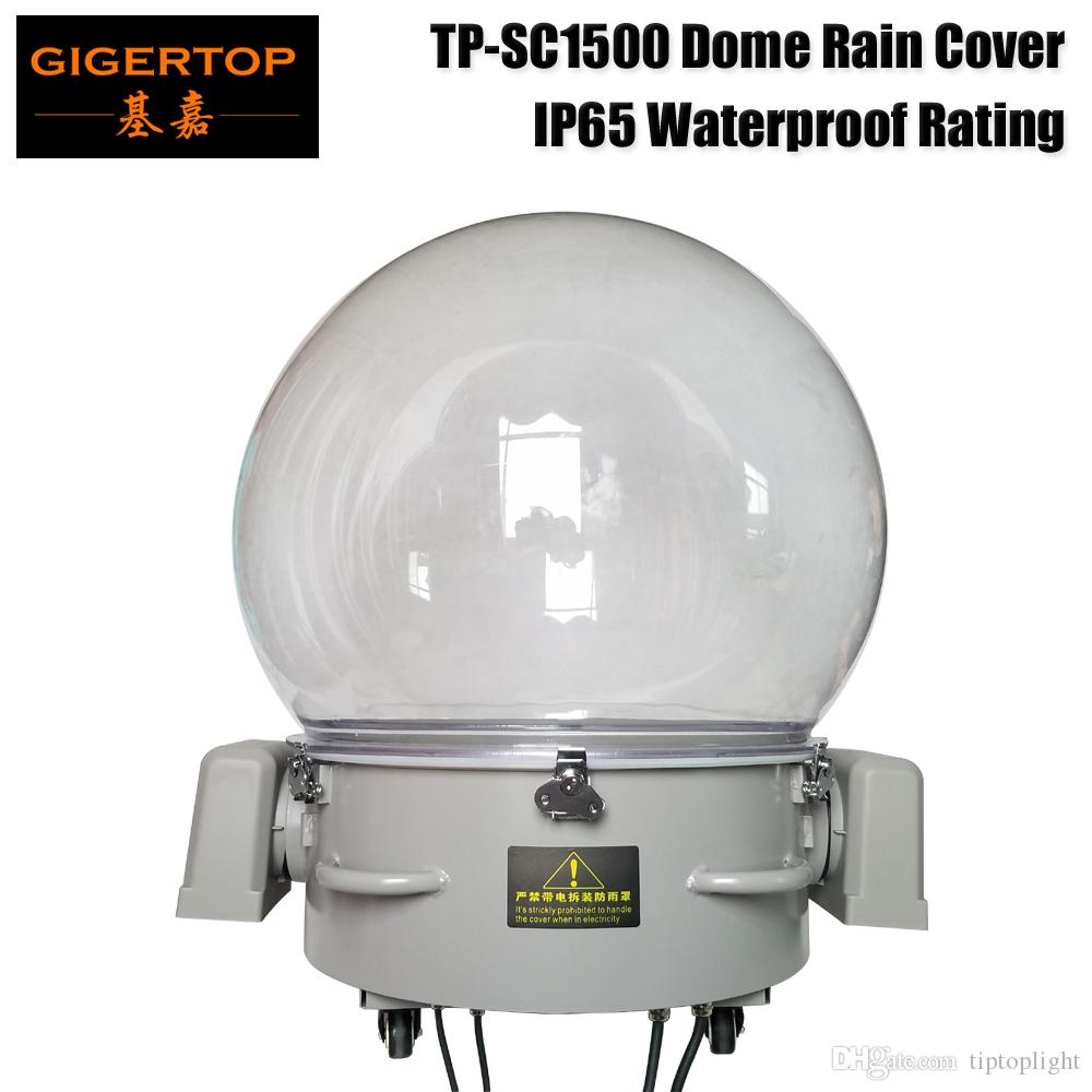 TP-SC1500 Professional China Waterproof Ip55 Rain Cover For Moving Head Light Big Dome Size Waterproof and Fireproof Case
