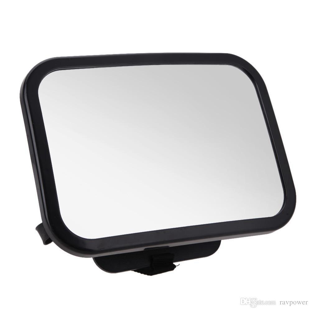 HX-M1001 مرآة الرؤية الخلفية القرص نوع الطفل مرآة الرؤية الخلفية 360 درجة دوران داخل السيارة