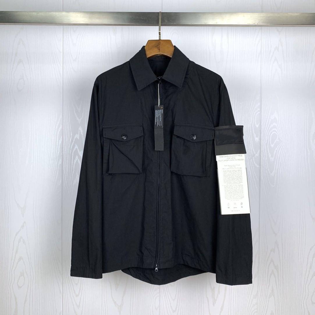 2020 supérieure YKK en nylon métallique casual design classique nouveau manteau des hommes fermeture éclair bras logo OEM imperméable taille asiatique coatn hommes 8184