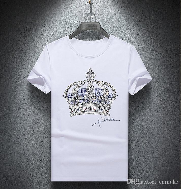 Tops drôles chauds chaude t 01 t-shirts en gros T-shirts hommes tees forage chemises luxe et hommes Tshirt lbaut