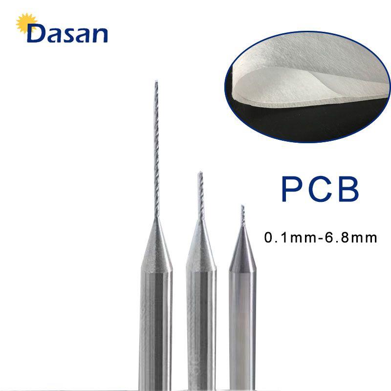 10pcs Carbide PCB Drill Bit 0.1mm 0.2mm 0.3mm 0.4mm 0.5mm 0.6mm 0.7mm 0.8mm 0.9mm 1.0mm Tungsten Steel for Meltblown