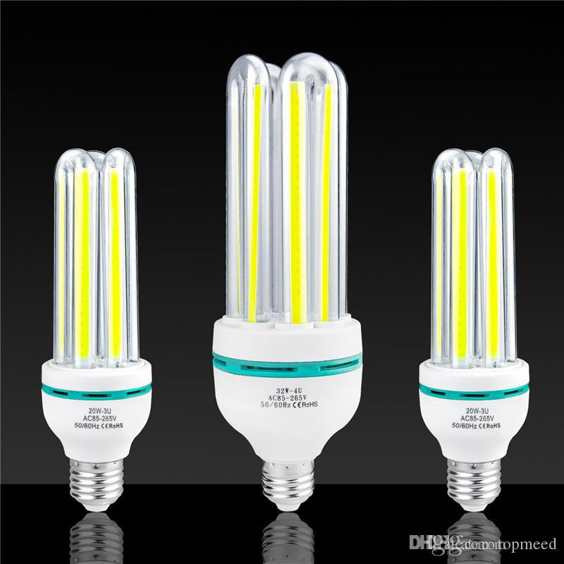 E27 COB Corn Bulb LED Energy Saving lighting 3W 7W 12W 20W 32W Lighting bulb Cafe school library factory Office home Indoor lamp