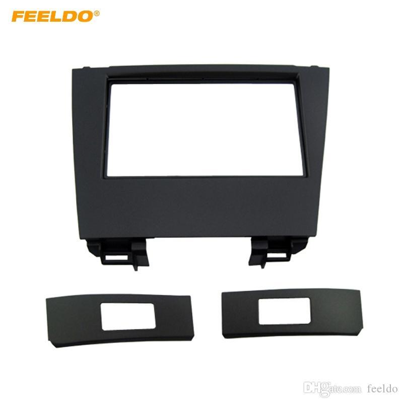 Автомобиль FEELDO автомагнитолы 2DIN стерео фасция рамы адаптера для Lexus ES350 и 2006-2012 с CD/DVD на передней панели установки рамка отделка комплект #4924