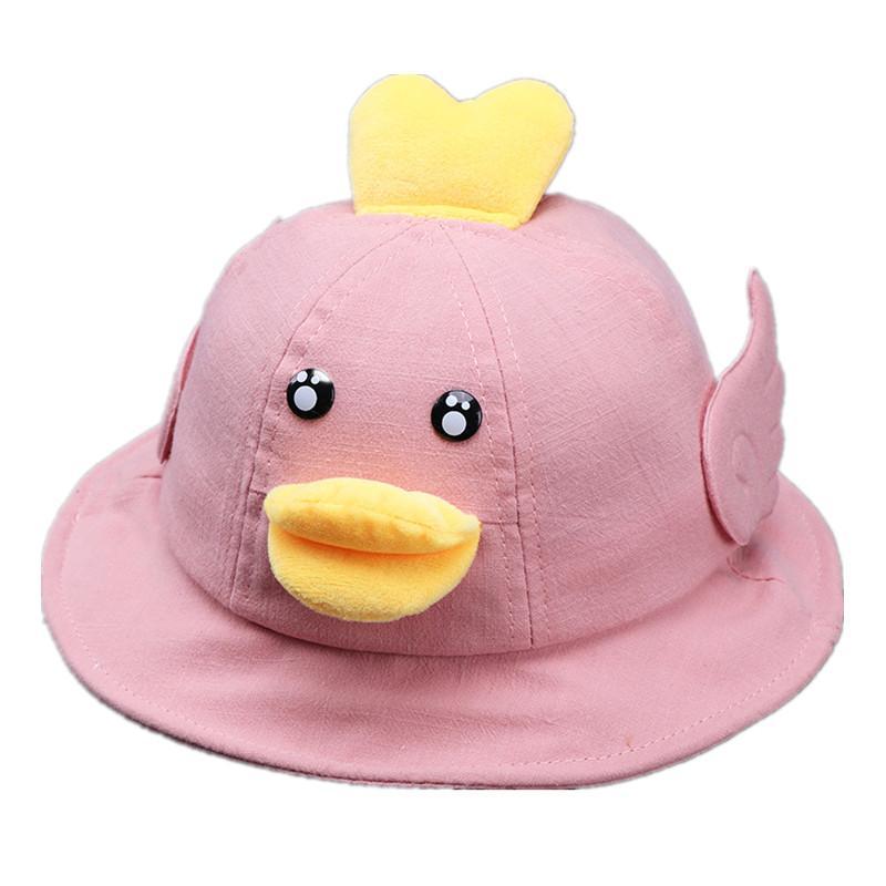 2020 nuovi bambini del fumetto del cappello di Sun del bambino del cotone del bacino del cappello di estate della molla del ragazzo ricopre i cappelli della benna per ragazze bambini Cappelli Sun Fisherman