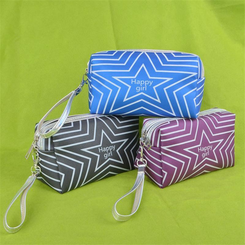 Koreanische stil kosmetische tasche mädchen brieftasche bilden aufbewahrung taschen wasserdicht waschen make-up tasche frauen design münz geldbörse kulturwaren organizer taschen ins