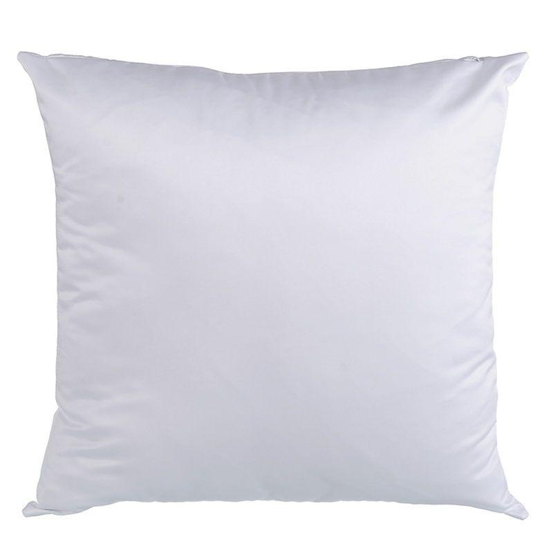 승화 빈 복숭아 피부 베개 경우 뜨거운 전송 인쇄 빈 흰색 복숭아 flannelette 베개 경우 소모품 40 * 40CM 45 * 45CM