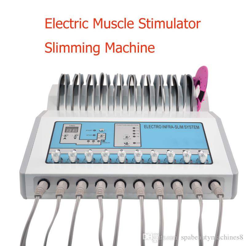 Far Infrared EMS Slimming Machine EMS Muscle Stimulator Electrostimulation Machine Russian Waves EMS Electric Muscle Stimulator