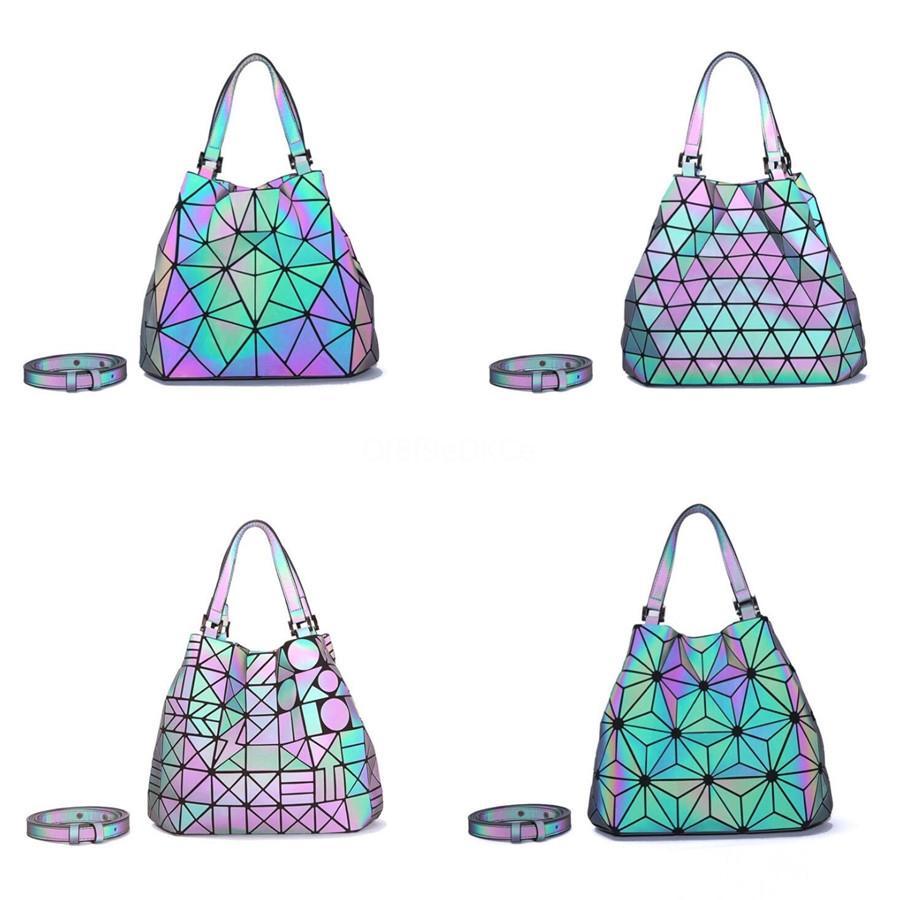 Alforjes For Designer Mulheres 2020 bolsas de couro de alta qualidade Ladies alça metálica geométrica Feminino Shoulder Semi-Circular Bag # 381
