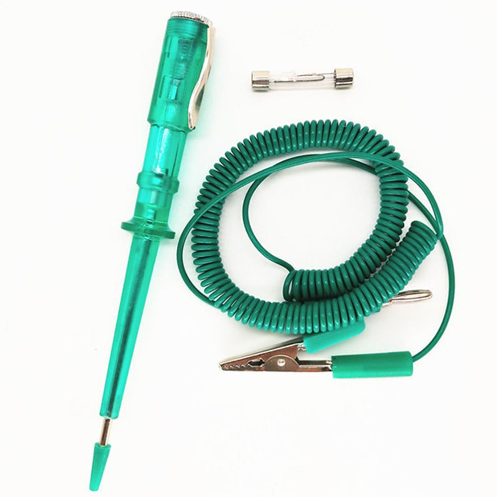 Lo strumento penna per auto portatile Automative 6V 12V 24V Plain Strumenti Slot mano parti di riparazione di veicoli circuito professionale Tester Manutenzione