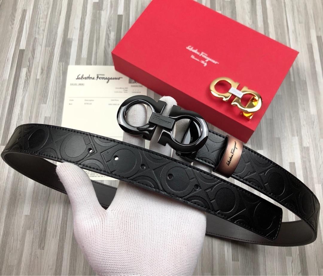 Erkek Casual klasik moda Yüksek endRetro moda inek derisi Kayışlar Genişliği: 3.5cm
