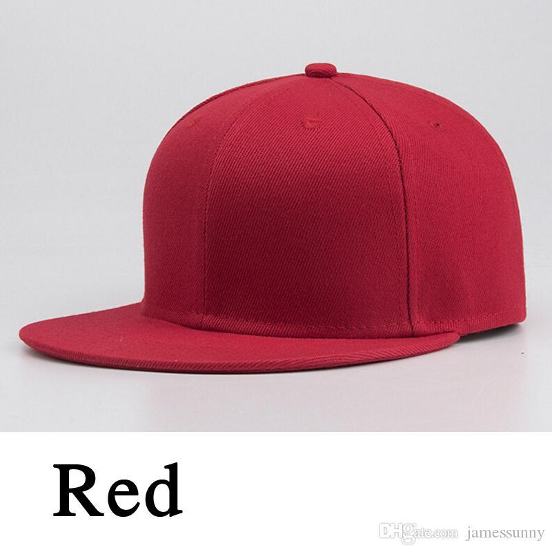 Meilleure vente Casquette de baseball vierge blanche solide balle de golf Snapback Hip-Hop Hat Hommes Femmes