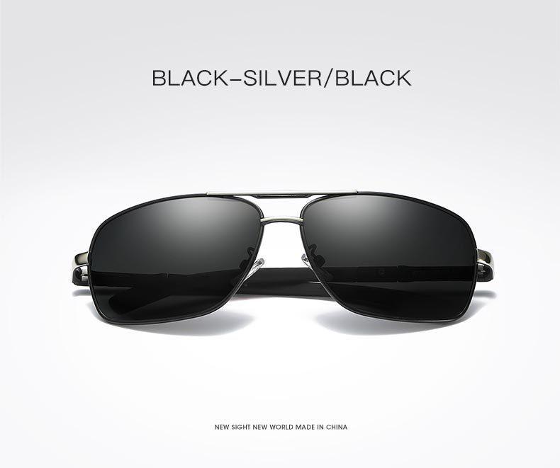 Al por mayor-gafas de sol polarizadas de los nuevos ojos de la moda de los hombres protegen gafas de sol que conducen gafas