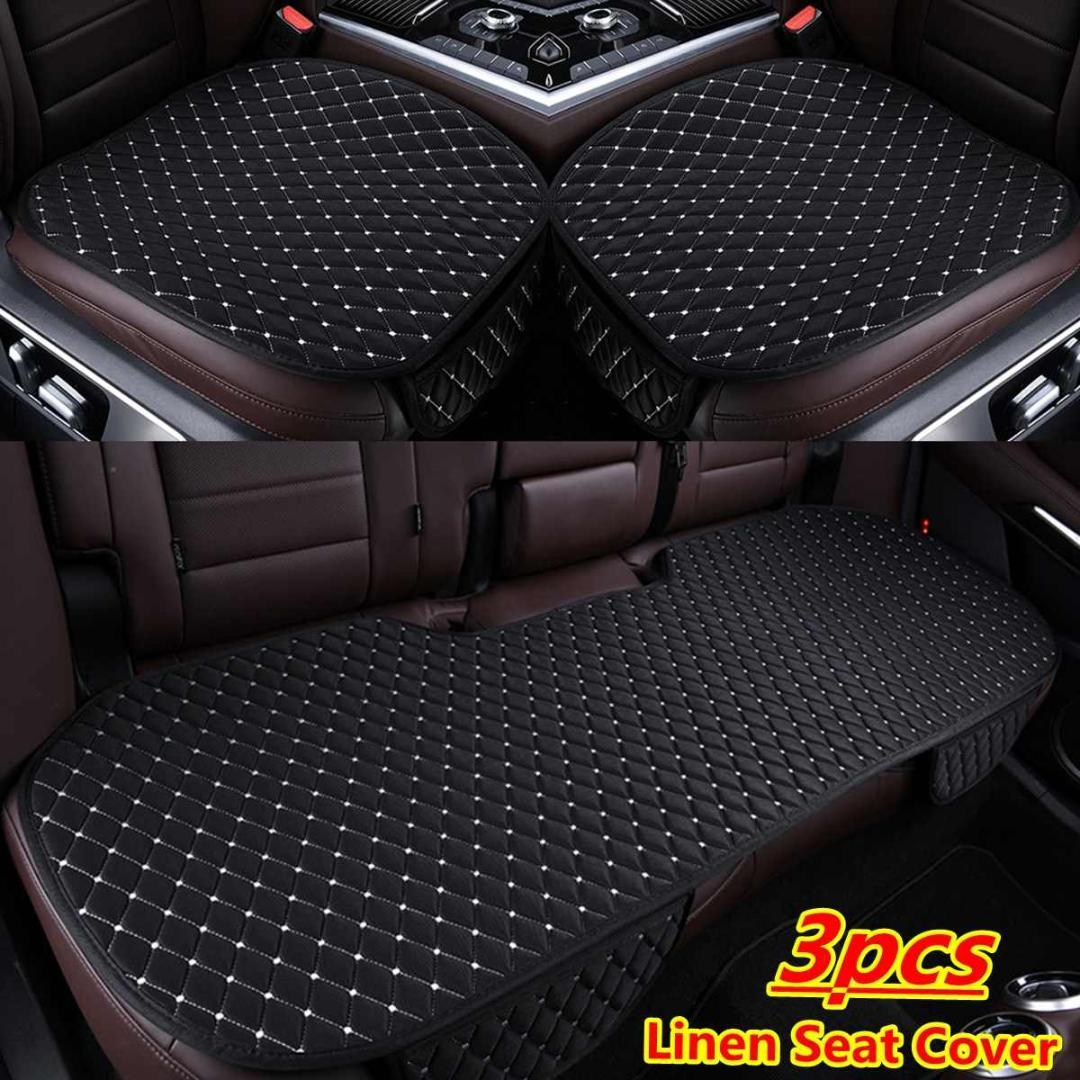 Waterproof Universal Back Seats Fit Rear Car Seat Cover Protector Mat Chair Pads