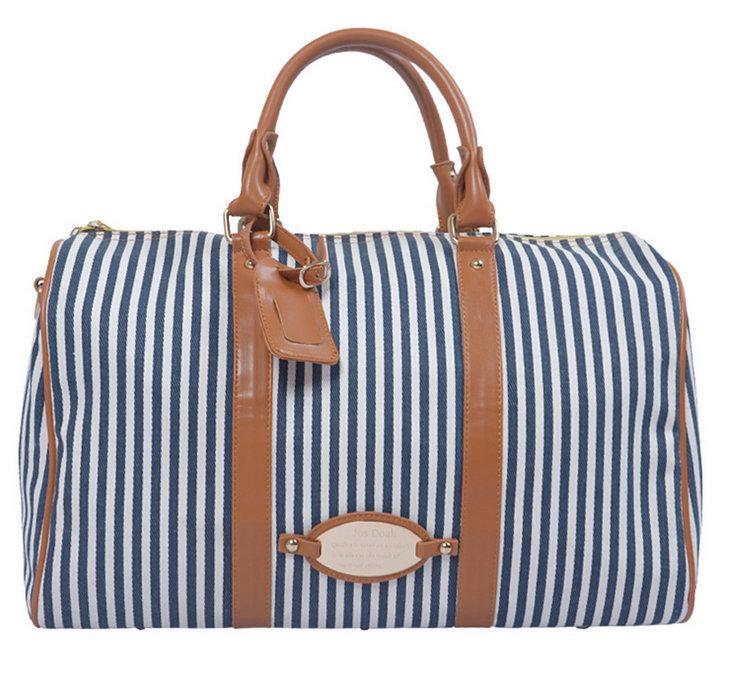 Sacos de mulher sacos de bolsa quente nova listra grande bolsa senhoras Duffel ombro saco de viagem BA022 moda esportes dpkmx