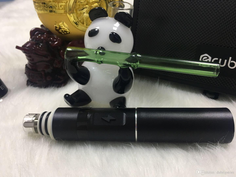 2020 Dabado boulon Meilleur dispositif pour tamponner plate-forme de cire de haute qualité vaporisateur cire portable herbe sèche stylo Kanboro eCube maître 2