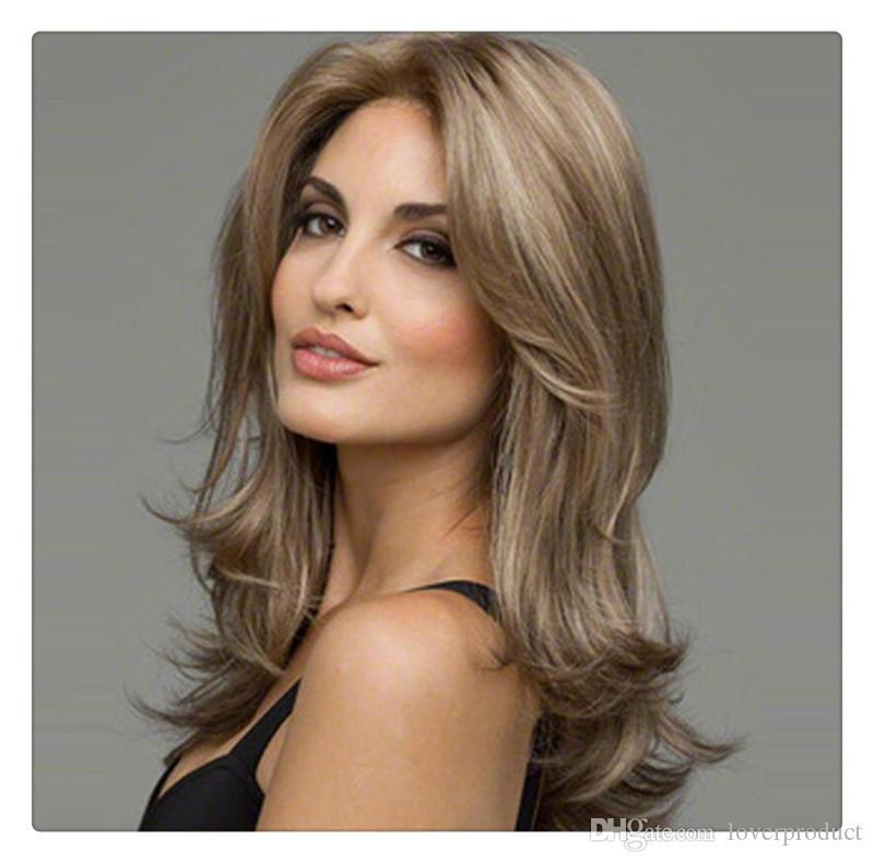 Perruque de cheveux humains de couleur perruque avant de cheveux humains pour les femmes préplumées avec pleine perruque de cheveux de bébé