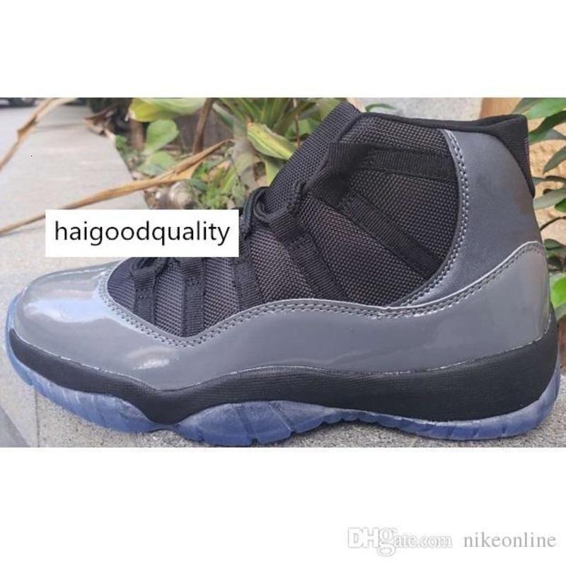 Недорогая новые 1 баскетбольной обуви ретро J11 волк серых Гамма синий черный белый красные выпускной вечер Concords Jumpman 11 XI кроссовка тенниса с коробкой