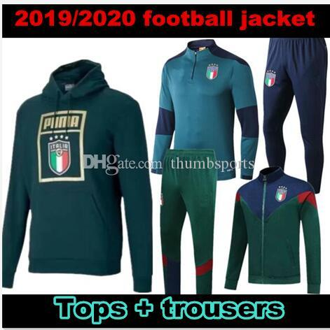 Italy soccer training suit 19 20 national team ITALIAN INSIGNE VERRATTI GHIELLINI long sleeve football jacket Sweater tracksuit