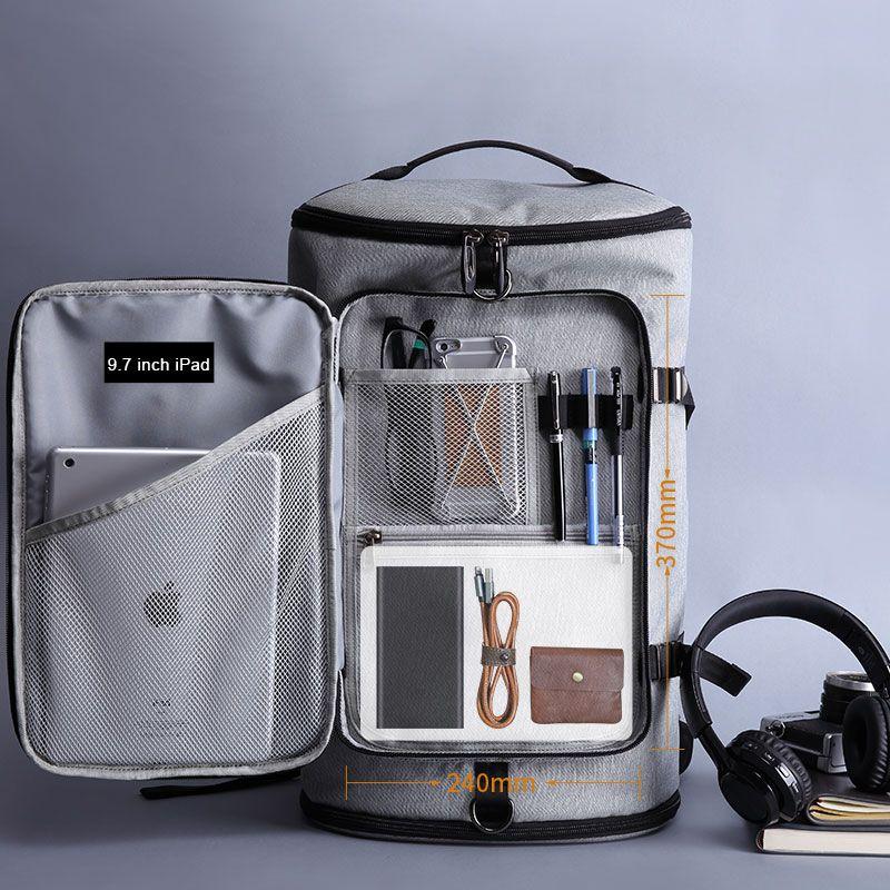JIULIN 40L grande capacidade de 15,6 homem da mala Laptop Backpack Viagem Backpack Bags para a escola Mulher adolescentes Computer Bagpack Mochila