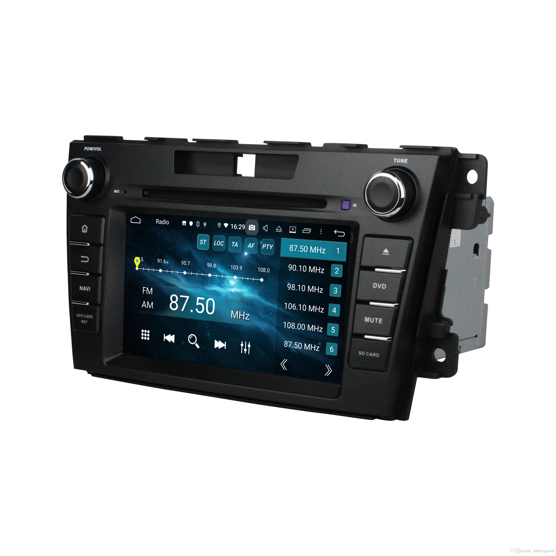 """PX5 DSP 안 드 로이드 9.0 Octa 코어 2 딘 7 """"자동차 DVD 라디오 GPS 마즈다 CX7 CX 7 2012 2013 2014 2015 블루투스 와이파이 USB 미러 링크"""