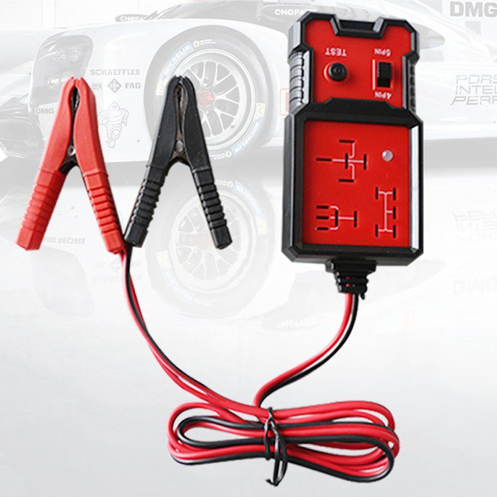 핫 범용 12V 자동차 릴레이 테스터 릴레이 테스트 도구 자동차 배터리 검사기 정확한 진단 도구 휴대용 자동차 부품