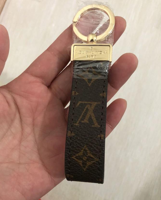 Borsa del progettista delle donne di lusso di cuoio fatto a mano di Keychain Charm Pendant Portachiavi Accessori a21020
