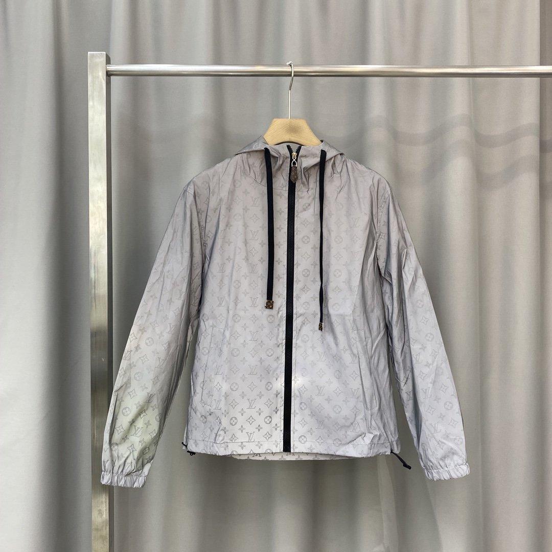 cappotti / giacche con etichetta nera luce riflettente cerniera impermeabile antivento traspirante pura all'aperto colore giacche a vento da uomo