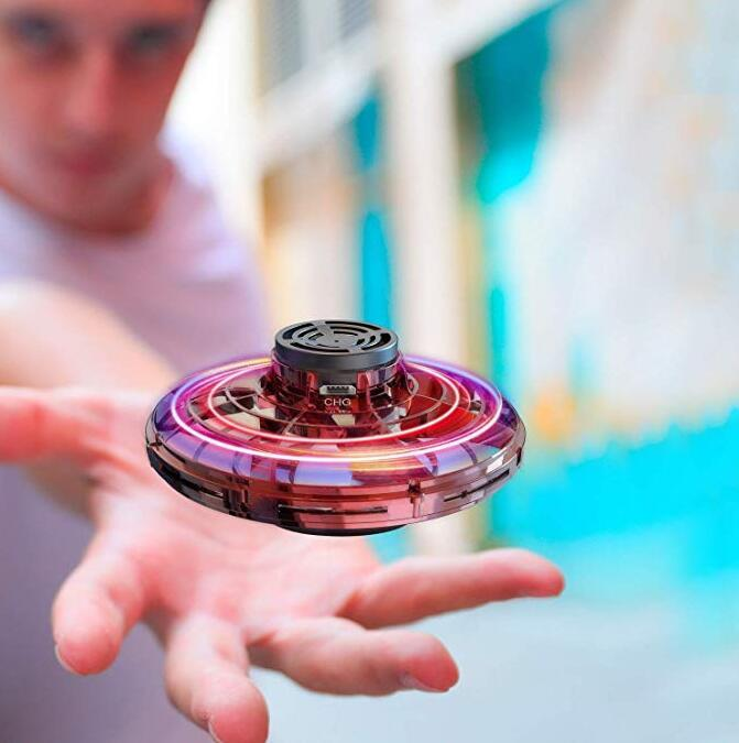 Hand Drone Flying Toys Drones for Kids, USB Charging RGB Lights Interactive Toys Gifts for Boys Girls Adults