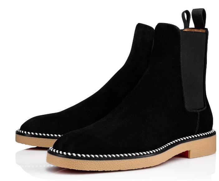 2020 أحذية جودة العلامة التجارية الجديدة أزياء دعوى أحمر أسفل الأحذية والجلود المرأة السامية الأعلى حذاء رياضة فاخر مصمم أحذية الكاحل الخريف