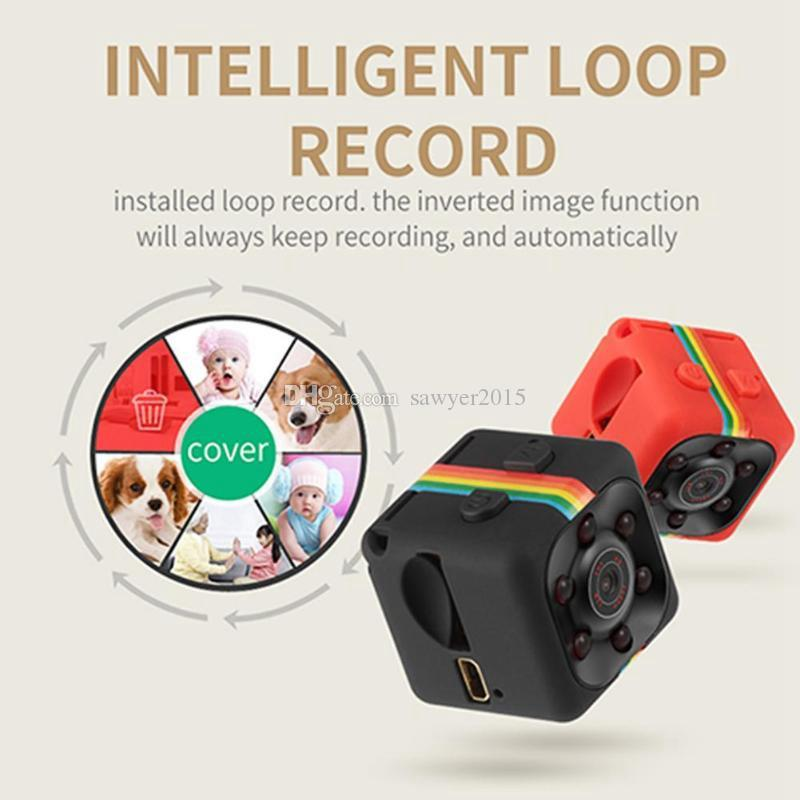 SQ11 Full HD mini Camera 1080P Sensor Night Vision Camcorder Micro video Camera Sports DV DVR Motion Recorder Camcorder SQ 11