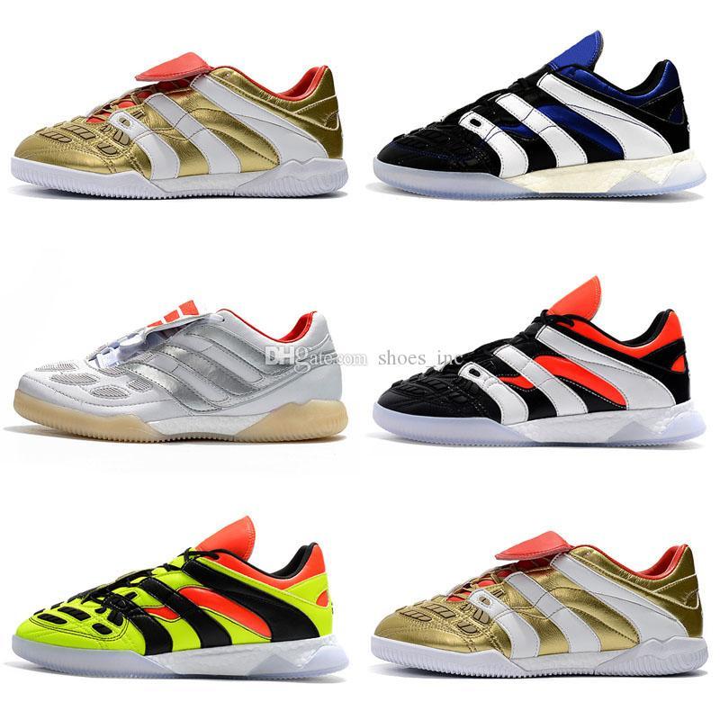 Predator Accelerator Electricity DB TF FG High Top Socks Football Boots Cleats Indoor David Beckham Soccer Shoes Mens Football shoes