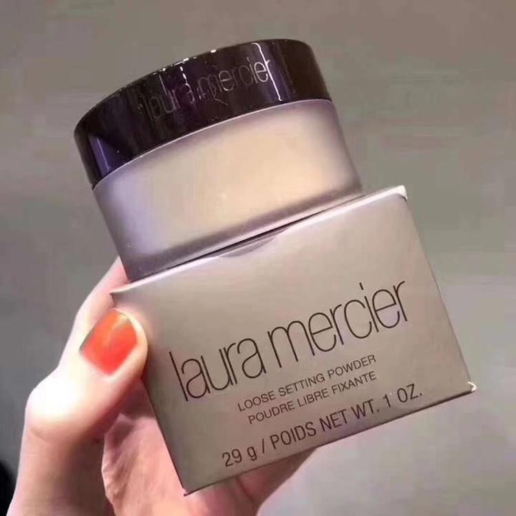 Hot Laura Mercier TRANSLUCENT Face Setting Powder 29g Foundation Makeup Bronzer Coutour fond de teint Concealer maquillage Kit