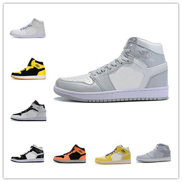 En segundo lugar Zapatos out2020 Nueva Travis Scotts X1 alta OG Mediados de baloncesto baratos Real Prohibido Bred Toe Negro Blanco Hombres Mujeres No 1s para reventa V2 Pre