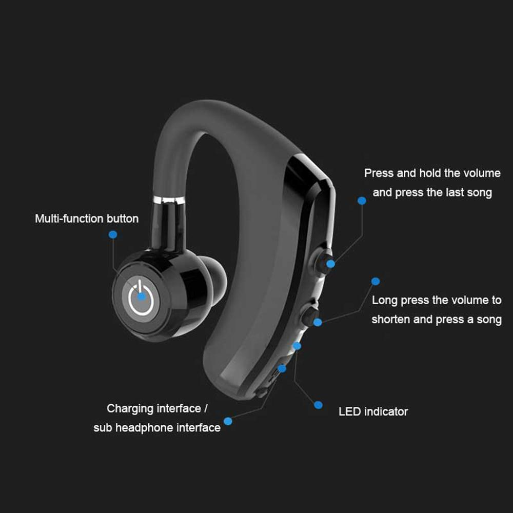 K5 Earhook Wireless Bluetooth Headset Earphone With Mic Sport V4 1 Phone Handsfree Music For Xiaomi Headphones Phone Cell Phone Headset Stereo Bluetooth From Wangxiuzhefactory 7 12 Dhgate Com