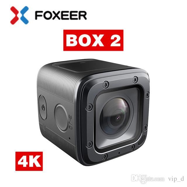 Foxeer BOX 2 4K HD Action FPV Camera SuperVison HD 155 Degree ND Filter Support APP Micro HDMI Fast Charge Type-c