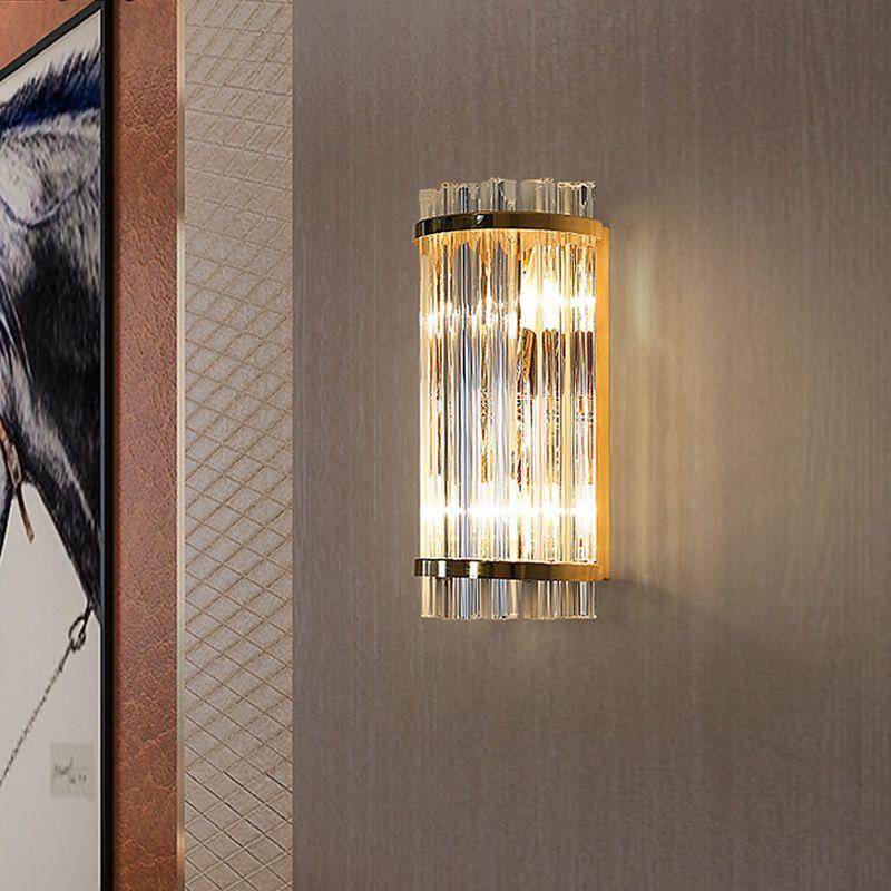 E14 Бра Бра Кристалл Настенный Светильник Простой И Творческий Спальня Прикроватная Настенный Светильник Кристалл Огни Золото Для Домашнего Ligting