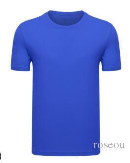 2019 yüksek dereceli pamuk T-shirt yuvarlak boyun erkek kısa kollu 053