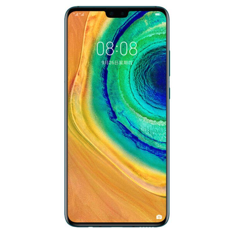 "Original Huawei Mate 30 4G LTE Cell Phone 8GB RAM 128GB ROM Kirin 990 Octa Core 40.0MP NFC IP53 4200mAh Android 6.62"" OLED Full Screen Fingerprint ID Face Smart Mobile Phone"