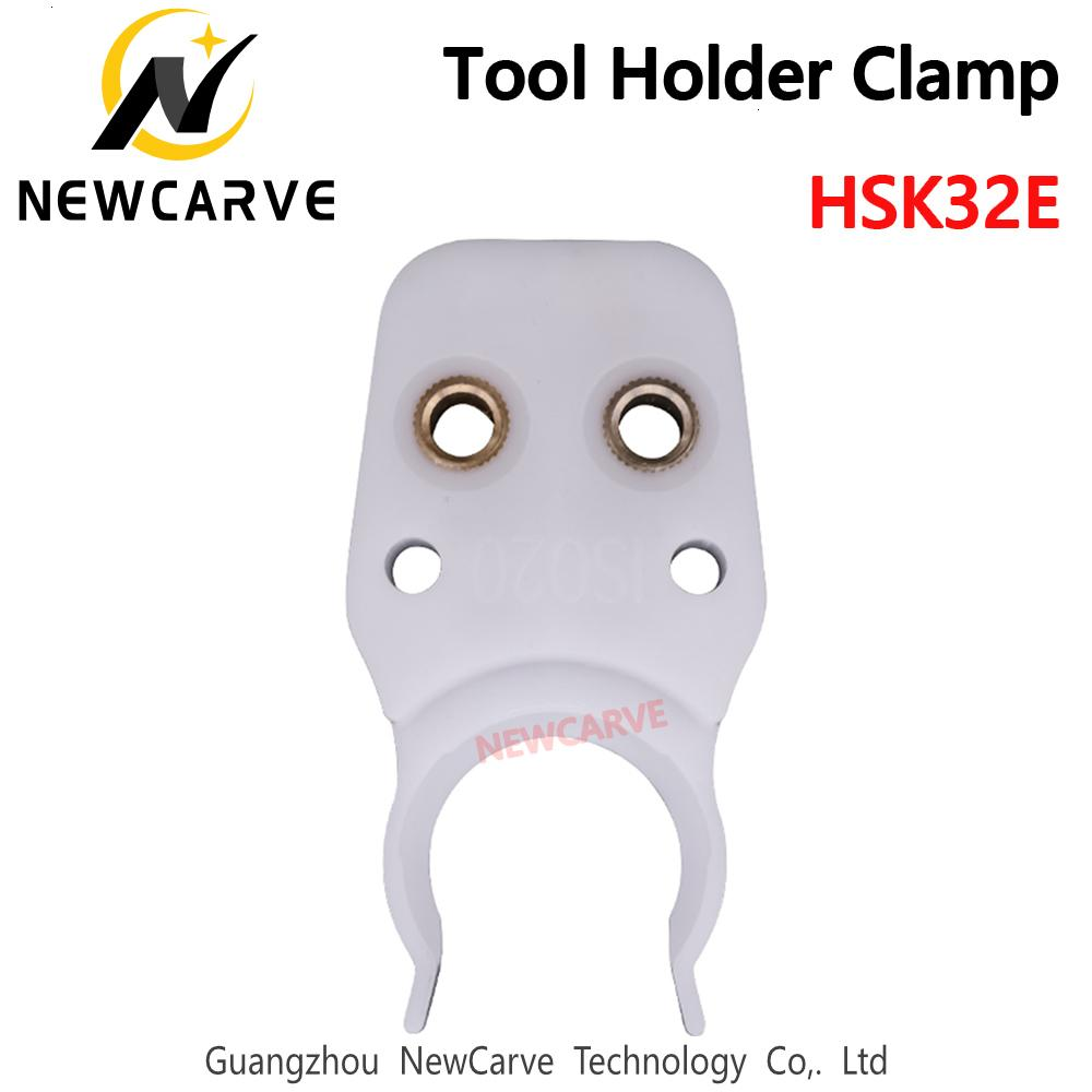 Инструмент HSK32E держатель зажим Держатель инструмента Коготь вилки АБС огнеупорные резины для станка с ЧПУ маршрутизатор HSK32E цанговый патрон NEWCARVE