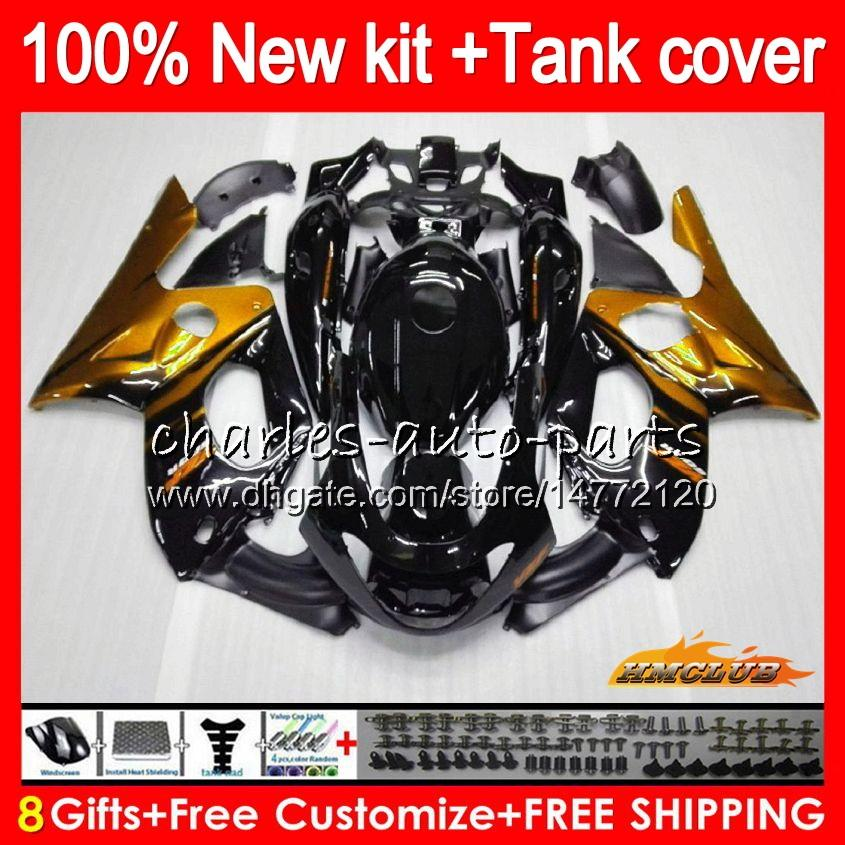 Body For YAMAHA YZF-600R CC gold flames YZF600R Thundercat 72HC.185 YZF 600R 96 97 98 99 00 01 02 1996 1997 1998 1999 2000 2001 2002 Fairing