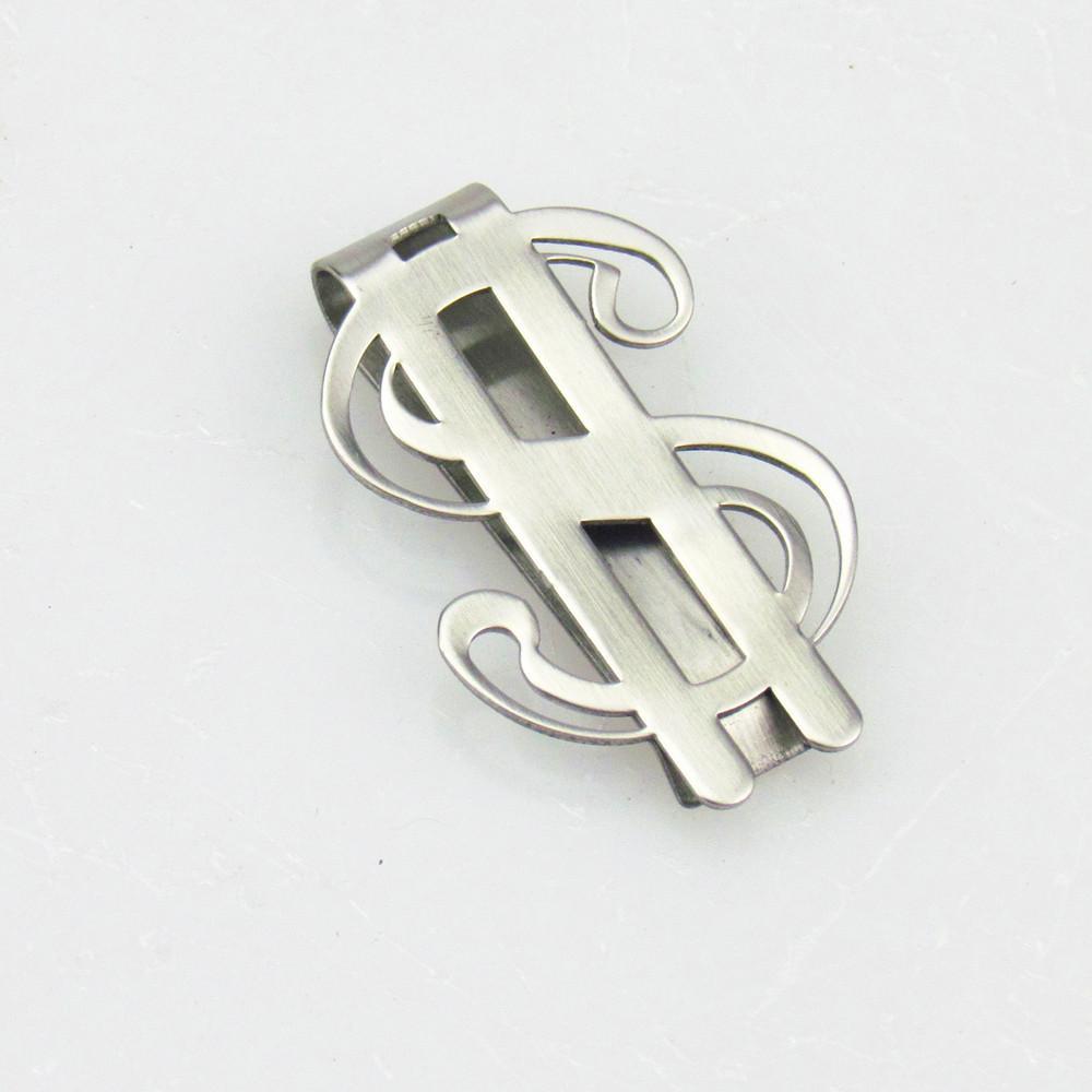 Edelstahl-Geld-Klipp-Taschen-Wallet Cash US-Dollar-Kartenhalter-Weihnachtsgeschenk-Kartenhalter-Mann-Schmucksachen