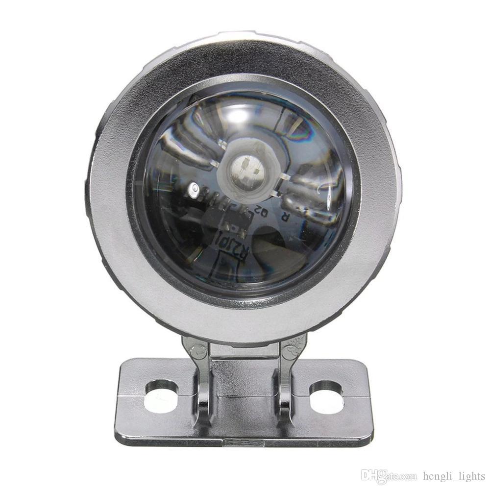 Light Pool Garden Fountain Pond Spotlight Waterproof Underwater Lamp with Remote Black Waterproof floor lamp JK0629