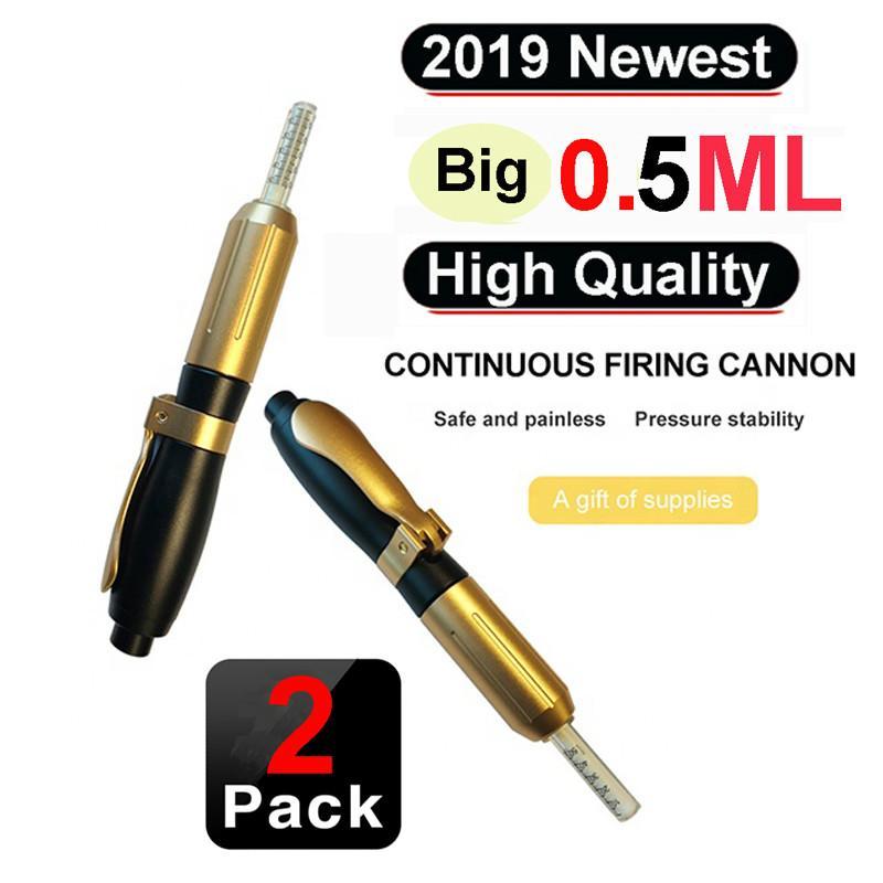Hyaluron القلم بندقية 0.3ML 0.5ml الهيالورونيك حقن القلم رذاذ تجعد إزالة المياه حقنة إبرة حقن مجانية غني