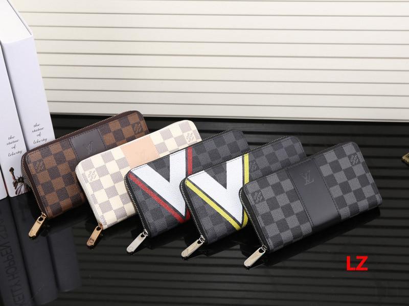 2020 titulaire Livraison gratuite en gros dame longue bourse pièce design multicolore Portefeuille carte femmes fermeture éclair classique Pocke 22