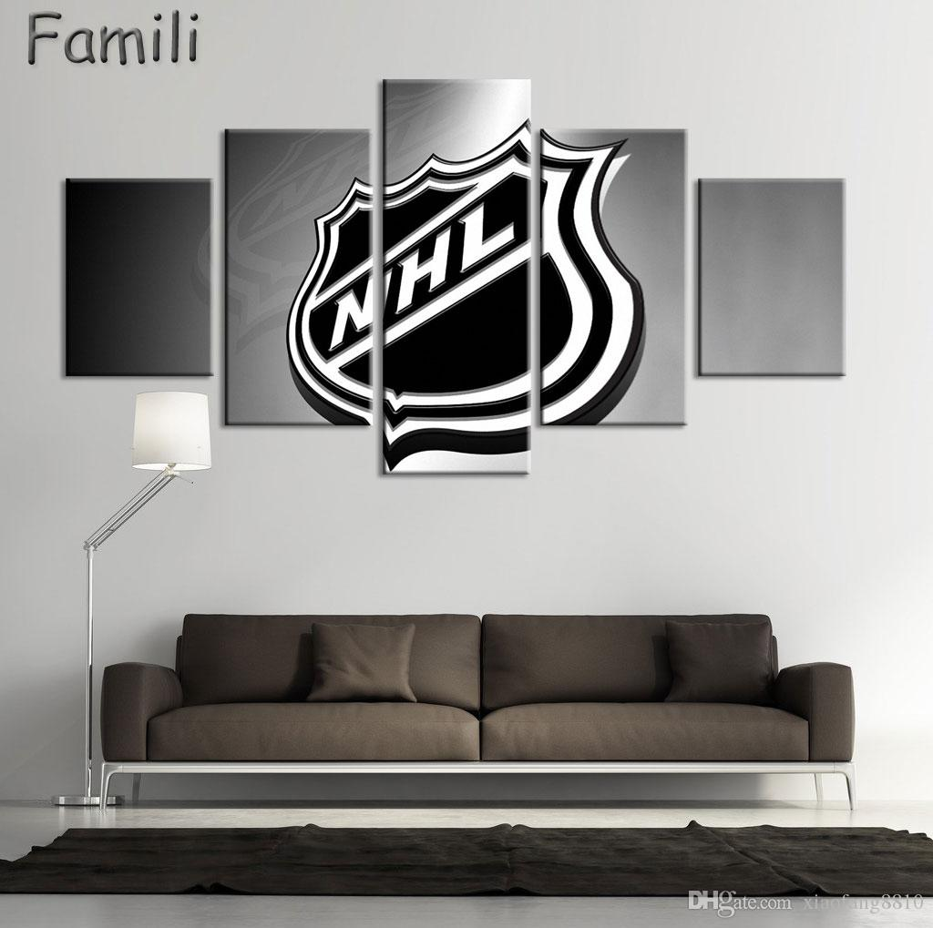 Hd Print New Jersey Devils Oil Painting Home Decor Art On Canvas Unframed