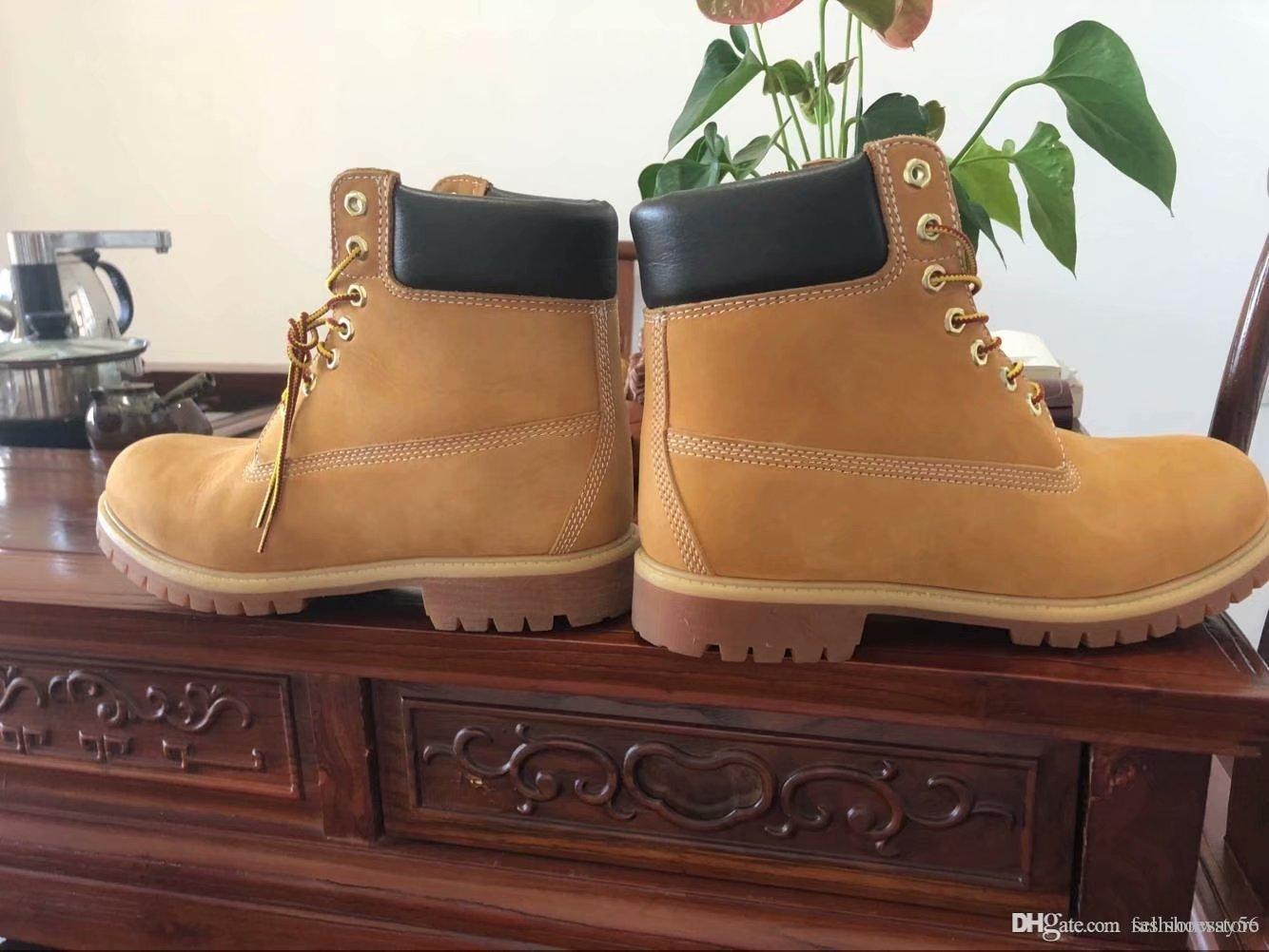 2020 Outlet 6 Inch Boots Man Premium