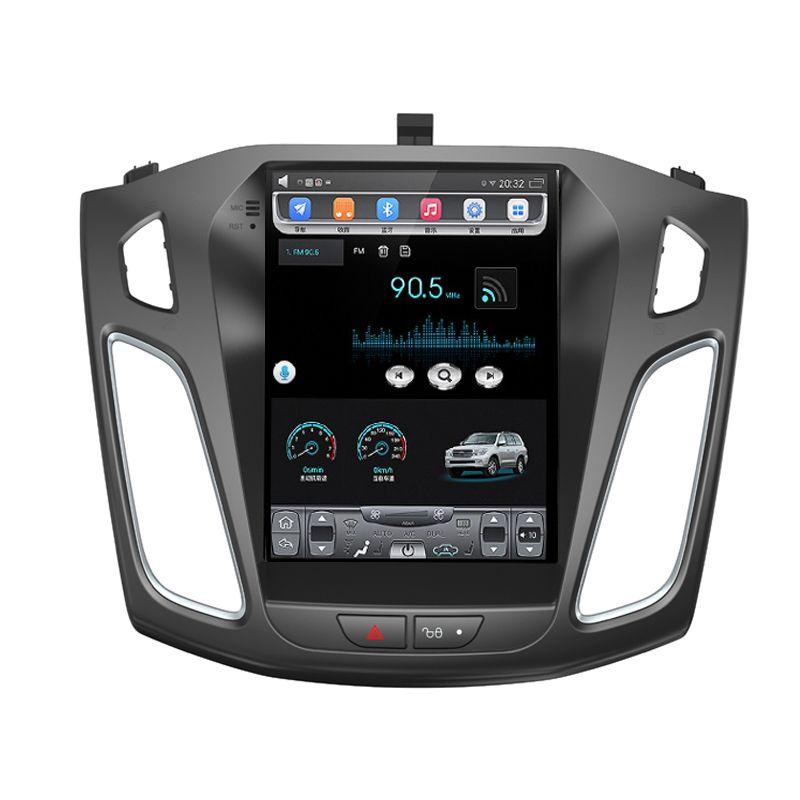 HD 10.4 بوصة IPS أندرويد Octa Core 2GB RAM + 32GB ROM Car DVD Player لفورد فوكس 3 2012 -2017 GPS Navigation Radio Stereo